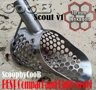Sand Scoop Shovel SCOUT v1 Stainless Steel Metal Detector Hunting Tool by CooB