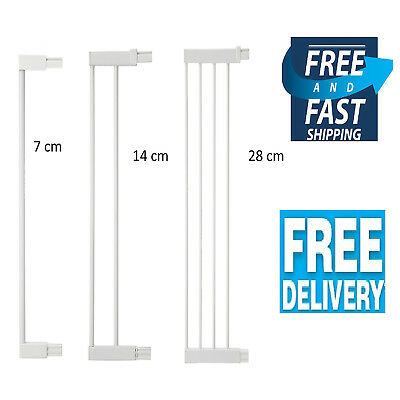 Safety 1st Extensions Pressure Fit Gate Stair Gate Extension Door Kit 7 14 28 cm