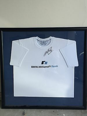 BMW Williams Signed Tshirt Ralph Schumaker