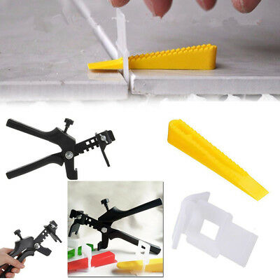 Plastic Tiles Leveler Spacers Lippage Tile Clips Wedges Leveling System DIY Tool