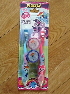 My Little Pony Travel Duo Toothbrush and Topper Set (Age 6+)