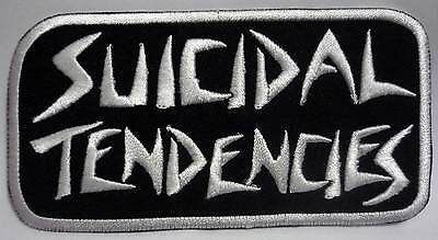SUICIDAL TENDENCIES embroidered curve patch Cyco Miko D.R.I. Infectious Grooves