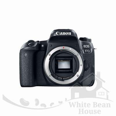 NEW Canon EOS 77D DSLR Camera (Body Only)