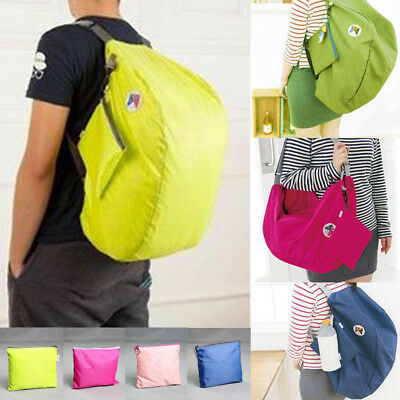 Portable Backpack Foldable Lightweight Waterproof Travel Daypack Camping  Hiking