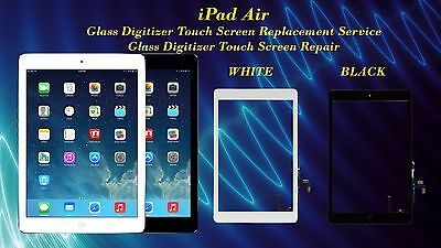 iPad Air 1 Glass Digitizer Touch Screen Replacement Repair Service