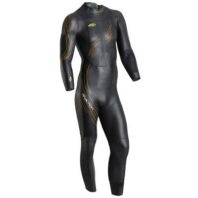 BlueSeventy Reaction Mens Wetsuit Black/Orange