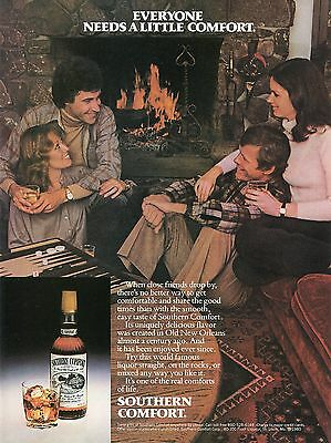 1981 Southern Comfort World Famous Liquor From New Orleans Print Ad