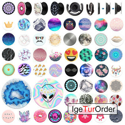 UK PopSocket Pop Sockets Grip Stand Phones Tablet Holder for iPhone Samsung Gift