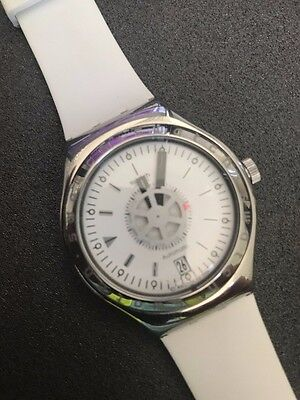 Swatch Unisex White Automatic Watch Edition