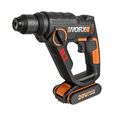 WORX WX390 20V 3-in-1 H3 Max Lithium-Ion Rotary Hammer