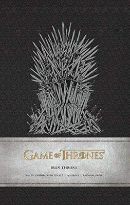Game of Thrones: Iron Throne - Hardcover Ruled Journal