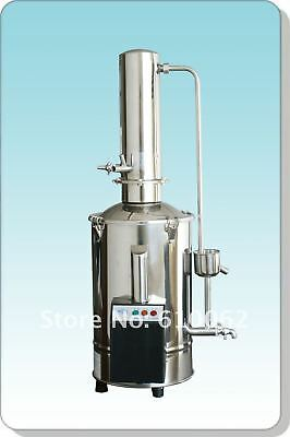 Auto-Control Electric Water Distiller Distilling Machine Distill Water 220V 5L/H
