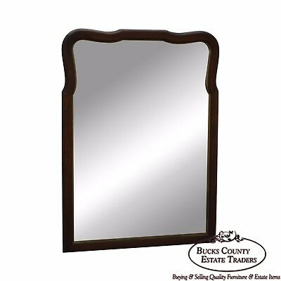 Statton Old Towne Cherry Traditional Wall Mirror