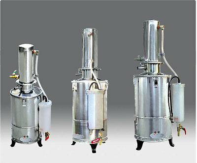 Auto-Control Electric Pure Water Distiller, Water Distilling Machine, 5L/h 220V