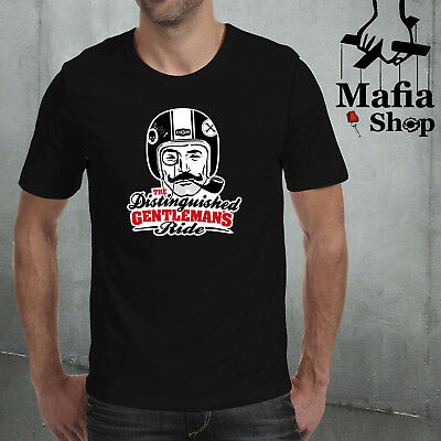 T-Shirt T-Shirt Camicia The Distinguished Gentlemans Ride Motorcycle Biker