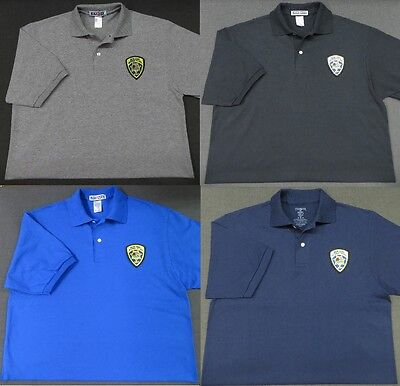 Montana Highway Patrol Patch Polo Shirt - MED to 3XL - 4 Colors - NEW