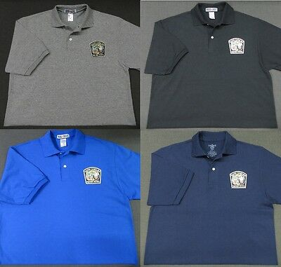 South Carolina Highway Patrol Patch Polo Shirt - MED to 3XL - 4 Colors - NEW