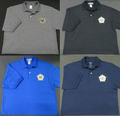 Alaska State Troopers Patch Polo Shirt - MED to 3XL - 4 Colors - NEW