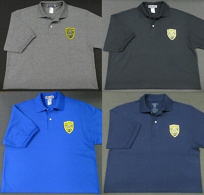 New Hampshire State Police Patch Polo Shirt - MED to 3XL - 4 Colors - NEW