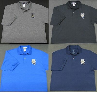 Nevada Highway Patrol Patch Polo Shirt - MED to 3XL - 4 Colors - NEW