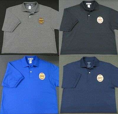 Tennessee State Patrol Patch Polo Shirt - MED to 3XL - 4 Colors - NEW