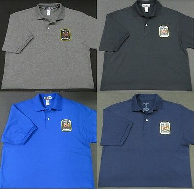 Alabama State Trooper Patch Polo Shirt - MED to 3XL - 4 Colors - NEW