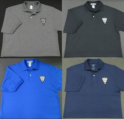 New Mexico State Police Patch Polo Shirt - MED to 3XL - 4 Colors - NEW
