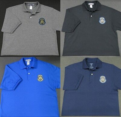 Missouri Highway Patrol Patch Polo Shirt - MED to 3XL - 4 Colors - NEW