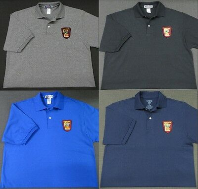 Minnesota State Patrol Patch Polo Shirt - MED to 3XL - 4 Colors - NEW