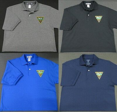 South Dakota Highway Patrol Patch Polo Shirt - MED to 3XL - 4 Colors - NEW