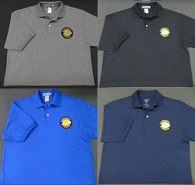 Kentucky State Police Patch Polo Shirt - MED to 3XL - 4 Colors - NEW