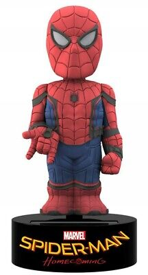 SPIDERMAN HOMECOMING Uomo Ragno Figura 15cm SOLAR BODY KNOCKER Neca FIGURE New