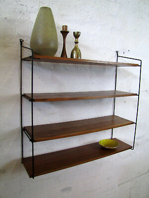original string regal shelf system 50er 60er b cherregal danish design 50s 04 eur 115 00. Black Bedroom Furniture Sets. Home Design Ideas
