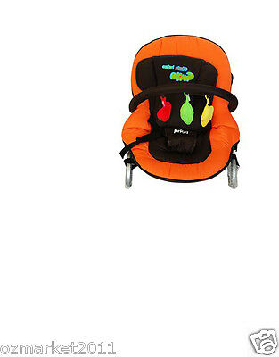 Security Orange Multi-Function Baby Swing Chair/Baby Rocking Chair/Deck Chair HB