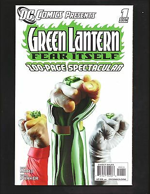 Green Lantern Fear Itself 100 Page Spectacular One Shot Dc Comics R