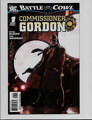 Commissioner Gordon #1 One Shot Battle For The Cowl Mr Freeze Batman Dc Bt