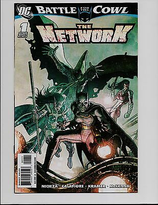 The Network #1 One Shot Battle For The Cowl Batman Dc Comics Bt