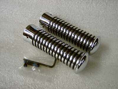 "Lambretta Gp Series 3 Chrome Sundance Grips Fit,gp Li,sx,tv,special""free Postage"