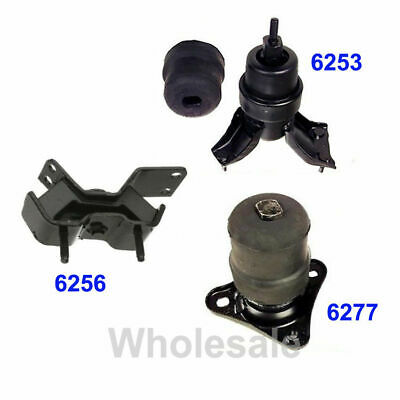 K0143 Motor/&Trans Mount 4pc Set for 1992-1996 Toyota Camry 2.2L w//AUTO Trans.