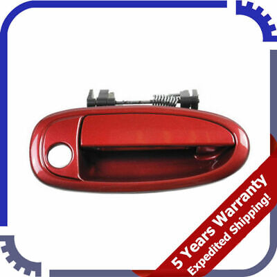 Outside Door Handle For 95-99 Toyota Avalon SUNFIRE RED 3K4 Front Right B4110