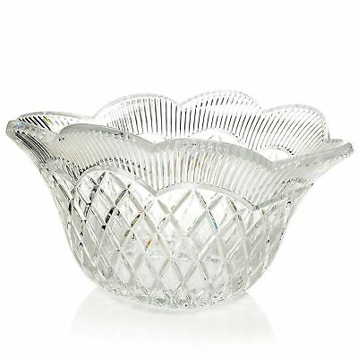 """Marquis by Waterford Basket Weave 12"""" Oval Bowl"""
