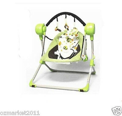 Luxury Security Green Multi-Purpose Baby Swing Chair/Baby Rocking Chair XP