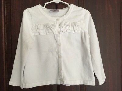 Hanna Andersson White Sweater 100