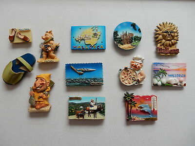One Selected 3D Souvenir Fridge Magnet from Mallorca Majorca Spain