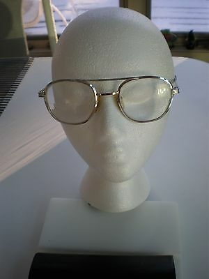 Vintage   Airco   USA  5 3/4/ AVIATORS METAL  SILVER TONE GLASSES MEN EXCELLENT
