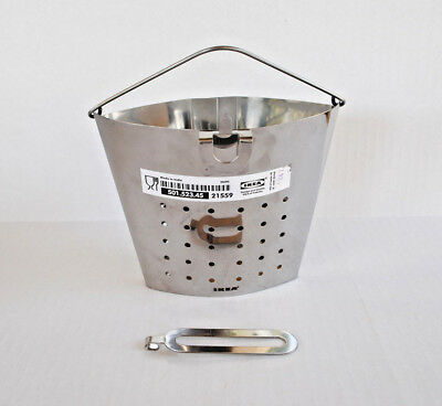 IKEA STABIL Boiling Insert Stainless Steel 34oz Dishwasher Safe New With Tag