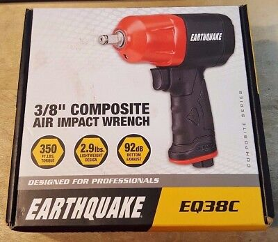 Earthquake 3/8 in. Composite Air Impact Wrench - FACTORY SEALED