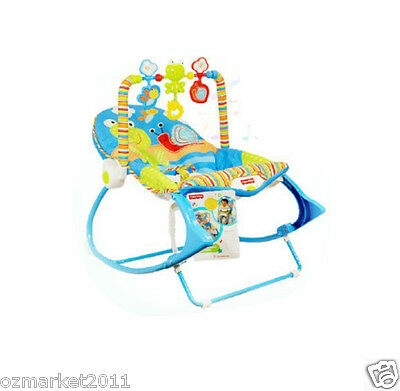 Fashion Blue Security Baby Swing Chair/Electric Rocking Chair/Deck Chair AVA