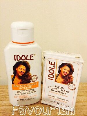 Idole Lightening Exfoliating Lotion & Soap With Avocado Powder