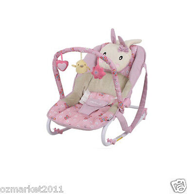 Fashion Pink Security Multi-Function Baby Swing Chair/Rocking Chair YJ
